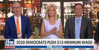 Fox Guest Whines: $15 Minimum Wage 'Horrifying'