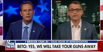 After He Threatened Beto O'Rourke, Fox Helps Republican Cain Play The Victim