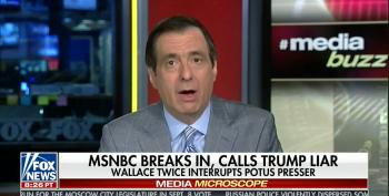 Fox's Howie Kurtz Whines About Nicolle Wallace Fact-Checking Trump In Real Time