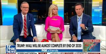 Fox And Friends:  Trump 'Never Should Have Said Mexico Is Going To Pay For The Wall'