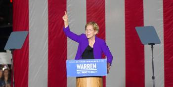 Elizabeth Warren Calls For Donald Trump's Impeachment
