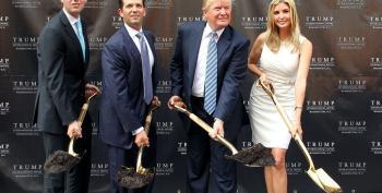 AM Joy: Trump 'Brazen' To Bring Up Kids' Business Dealings