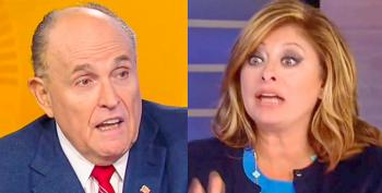 Maria Bartiromo Yells To Get Answers Out Of Unhinged Giuliani: 'Where Are The Indictments?'