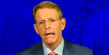 Tony Perkins: Mass Shootings Happen Because Kids Learn About Evolution And 'Primordial Slime'