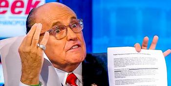 Giuliani Contradicts Himself On Cooperating With Impeachment: 'I Wouldn't Cooperate With Adam Schiff'