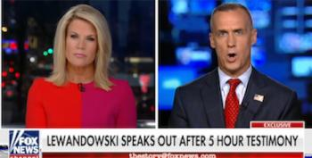 Fox 'Straight News' Host Rehabs Lewandowski By Letting Him Lie Some More