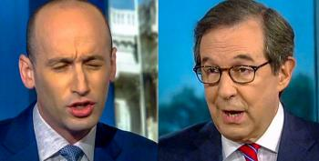 'Enough With The Rhetoric': Chris Wallace Lights Up Stephen Miller After He Attacks The 'Deep State'