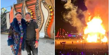 Billionaires At Burning Man