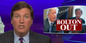 Tucker Carlson Hilariously Declares John Bolton 'A Man Of The Left'