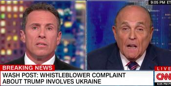 Crazed Rudy Giuliani Lies, Then Admits He Asked Ukraine To Investigate Joe Biden
