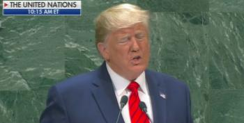 Trump Gave A Squinty, Somnambulant, Dead-Eyed, White Nationalistic UN Speech