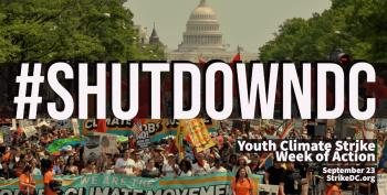 Protesters Blockade DC Streets To Demand Climate Action