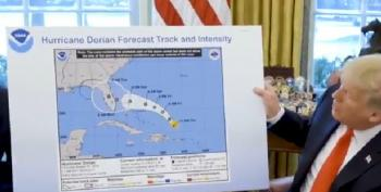 Criminal Mind: Liar-In-Chief Fabricates A Government Forecast About Dorian
