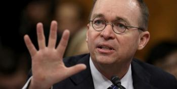 Mick Mulvaney Believes Trump's Impeachment Will Lead To An Historic Win