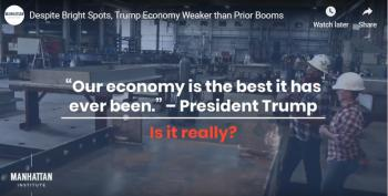 Let's Take A Closer Look At Trump's Best Economy Ever