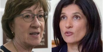 Susan Collins Losing To Generic Democrat In New Poll