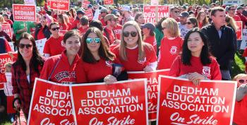 Dedham Teachers Go On Strike, Defying State Law, And WIN