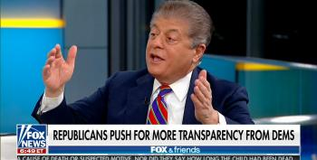 Fox News' Napolitano: Schiff Is Following GOP Impeachment Rules