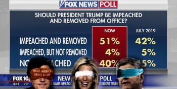 As Trump Rages, Fox Ignores Its Own Impeachment Poll