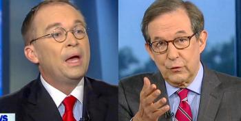 Mulvaney Falls Apart As Chris Wallace Plays 'Quid Pro Quo' Tape: 'That's Not What I Said'