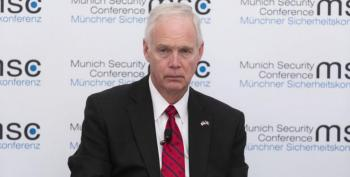 Ron Johnson Sees No Problem With Trump's Extortion