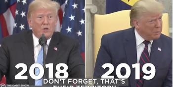 Trump On The Kurds: 2019 Versus 2018