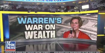 Fox Guest Complains About Warren's Wealth Tax: $50 Million 'Not As Big As You Think'