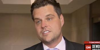 Matt Gaetz And Fellow GOP Goons Breach Secure SCIF With Cell Phones In Tow