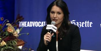 Report: Gabbard Snuggles Up To Wall St. Execs, Considers 3rd Party Run