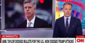 Jake Tapper Rips Trump For Calling Ambassador Taylor 'Human Scum'