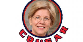 Elizabeth Warren Trolls Burkman, Wohl With 'Cougar' Tweet