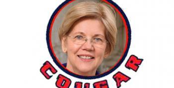 Elizabeth Warren Trolls Burkman, Wohl With 'Cougar' Tweet