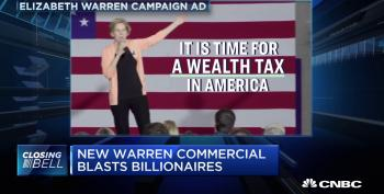 Elizabeth Warren Takes On The Billionaires - And They're Spitting Mad
