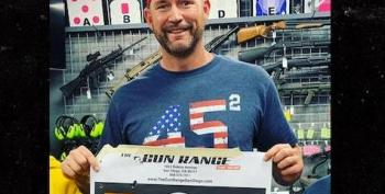 Former MLB Player Takes His Kids To Gun Range 'In Case Bernie Beats Trump'