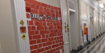 Teach Your Children Well: White House Halloween Party Encourages Kids To 'Build The Wall'