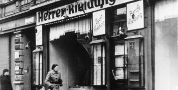 The Forgotten Mass Destruction Of Jewish Homes During 'Kristallnacht'