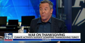 Fox News' War On Christmas Expands To Thanksgiving