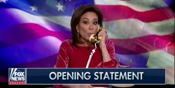 Fox's Jeanine Pirro Pushes Debunked Conspiracy Theory On Ukrainian Election Interference