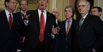 Senate Republican 'Jurors' Plot With Defendant Trump To Limit Trial