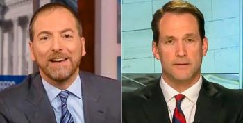 Rep. Jim Himes Slams Chuck Todd For Epic Bothsiderism During Rand Paul Interview: 'My Head Is Decombusting'