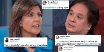 George Conway And Nikki Haley Get Into It On Twitter