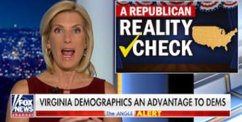 Laura Ingraham Scapegoats Immigrants And Soros For Devastating Virginia Loss
