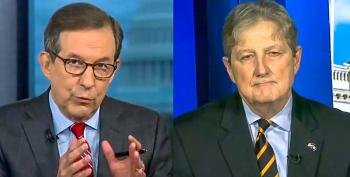 'It Was Russia': Chris Wallace Live-fact Checks GOP Senator Who Says Ukraine Could Have Attacked Election