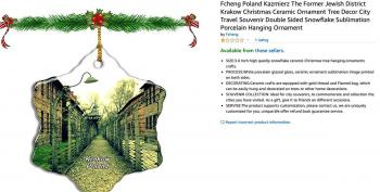 Amazon Removes Holocaust-Themed Ornaments