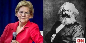 Fareed Zakaria Says Elizabeth Warren 'Not Really A Socialist' After Airing Photo Of Her Next To Karl Marx