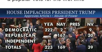 HISTORY: Trump Impeached For Abuse Of Power And Contempt Of Congress