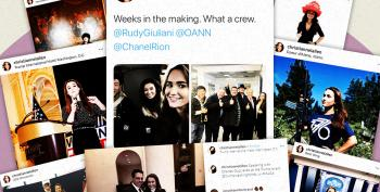 Meet Rudy Giuliani's Mystery 20-year-old Spokeswoman