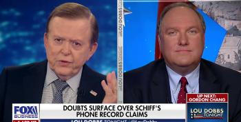 Lou Dobbs And John Solomon Complain That House Intelligence Report Included Solomon's Phone Records