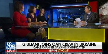 Fox's Howard Kurtz And Company Help Rudy Giuliani Push Russian Propaganda Aired On OAN