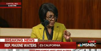 Rep. Waters: 'History Will Remember Those Willing To Speak Truth To Power'